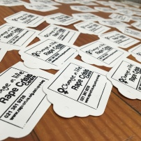 Tags for the care packs